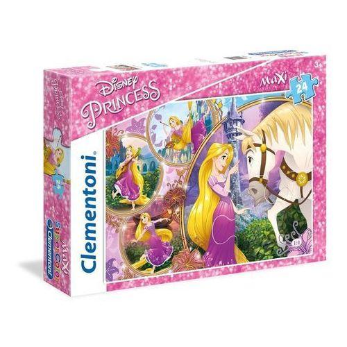 Puzzle Maxi SuperColor 24 Disney Księżniczki Zaplątani, AM_8005125237029