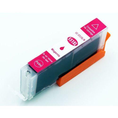 Tusz purpurowy cli-551m / cli551m do canon mg5550 / 5650 / ip7250 / mx925 / magenta / 15ml marki Dd-print