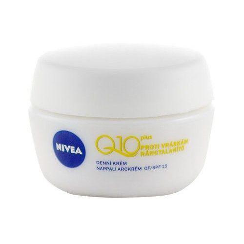 Nivea Q10 Plus Day Cream 50ml W Krem do twarzy do skóry normalnej i suchej