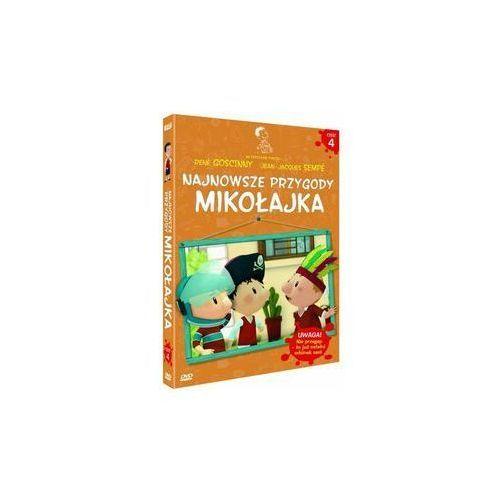 Najnowsze przygody Mikołajka 4 (DVD) - Dostawa zamówienia do jednej ze 170 księgarni Matras za DARMO, kup u jednego z partnerów