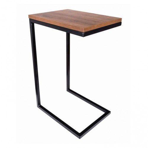 Stolik pomocnik pod laptopa - industrialny PORTILLO