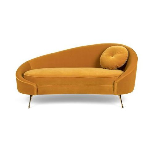 Bold Monkey Sofa I AM NOT A CROISSANT musztardowa BM32008, kolor żółty