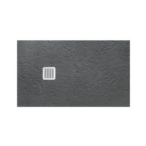 Roca Terran 120x90cm brodzik prostokątny konglomeratowy ciemnoszary AP014B038401200