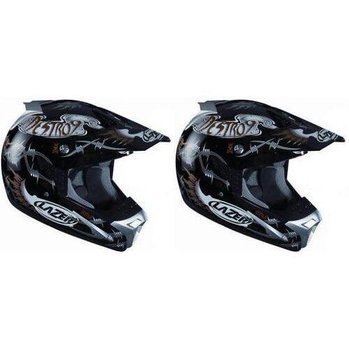 Kask motocyklowy LAZER SMX Destroy czarny/szary
