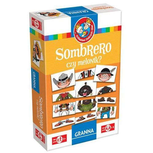 GRANNA Gra Sombrero czy melonik? (5900221002263)
