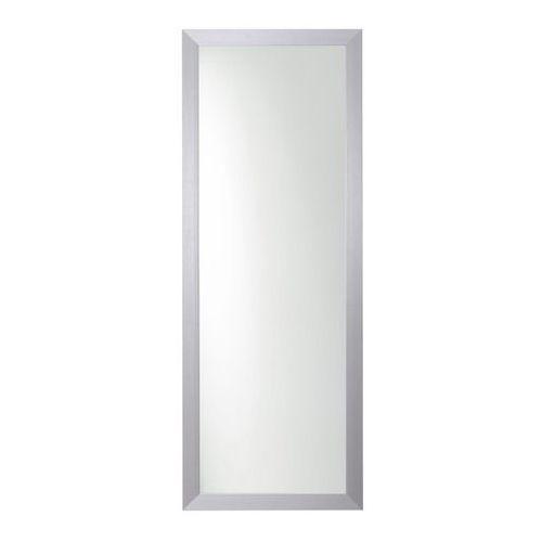 Lustro prostokątne 120 x 45 cm w ramie szare, kolor szary