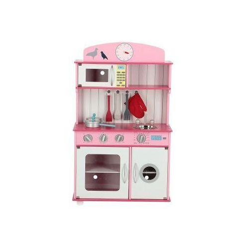 Drewniana kuchnia dla dzieci sofia różowa z wyposażeniem marki Wooden toys
