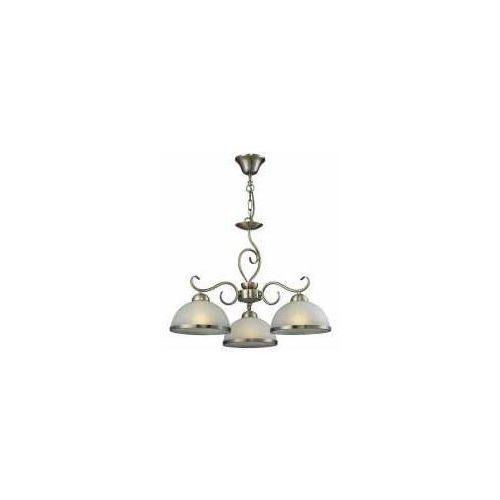 Reality Lampa wisząca zwis lindgard 3x60w e27 patyna 108703-04