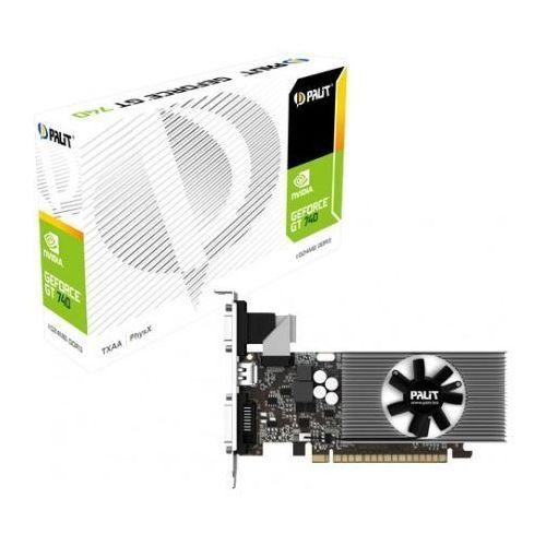 OKAZJA - GeForce CUDA GT740 2GB DDR3 PCI-E 128Bit DVI/HDMI/DSub BOX