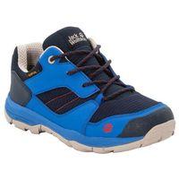 Jack wolfskin Buty trekkingowe dla dzieci mtn attack 3 xt texapore low k dark blue / light blue - 34