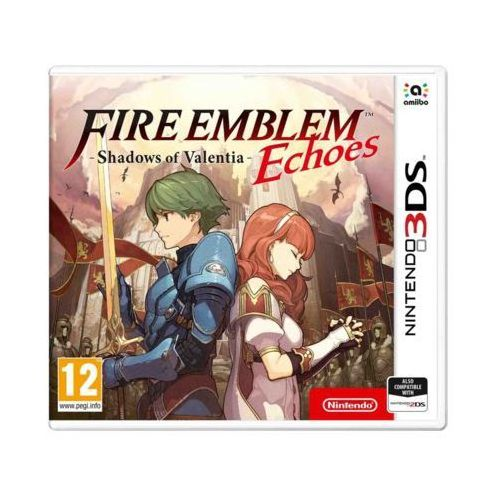 Gra 3ds fire emblem echoes: shadows of valentia marki Nintendo