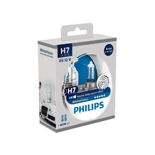 Philips żarówki samochodowe whitevision h7, 12 v, 55 w (2 szt.) (8711500788887)