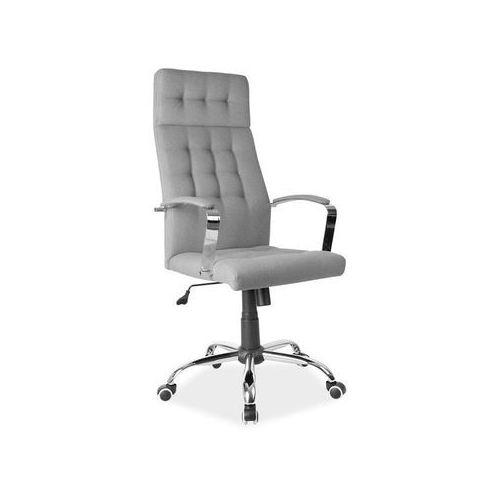 Fotel obrotowy, krzesło biurowe Q-136 grey