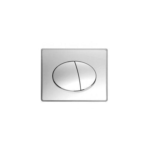 prz sat-k50 przycisk spłukujący do stelaża k50, satyna marki Kerra