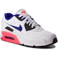 Buty - air max 90 essential 537384 136 white/ultramarine/solar red, Nike, 40-43