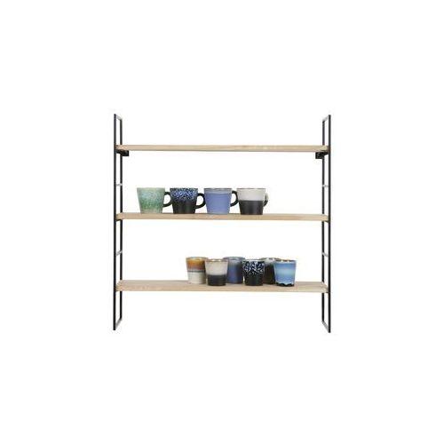 Woood półki wiszące meert drewno/metal - woood 390913-z