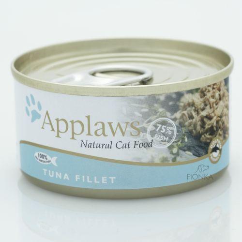APPLAWS Tuna karma dla kotów Filet z tuńczyka puszka