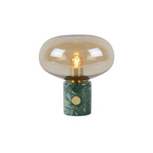 Lucide Charlize 03520/01/62 Lampka biurkowa 1x40W E27 bursztynowo/zielona
