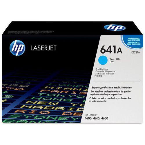 Wyprzedaż Oryginał Toner HP 641A do Color LaserJet 4600/4650 | 8 000 str. | cyan, pudełko otwarte