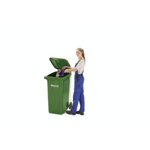 Schaefer group Otwieranie pokrywy pedałem, do pojemnika na odpady 80/120 l, ocynkowane. łatwe i