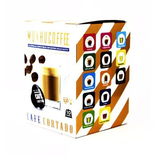 CAFE CORTADO MUSHU COFFEE (kawa z mlekiem) kapsułki do Dolce Gusto – 10 kapsułek