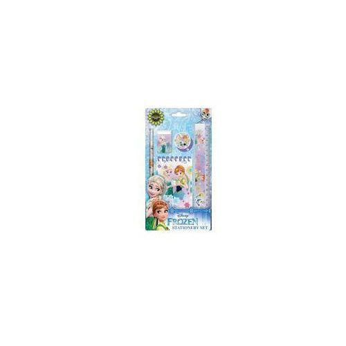 Zestaw szkolny 5 elementów z notesem Kraina Lodu - MST Toys (3850289028144)