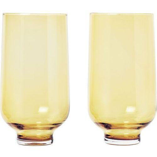 Szklanka Flow 0,4 l, 2 szt. Dull Gold (4008832773976)