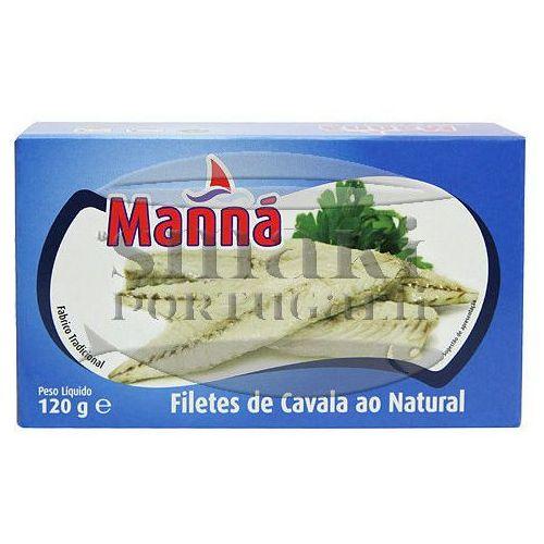 Filety z makreli portugalskich w sosie własnym 120g Manná - sprawdź w wybranym sklepie
