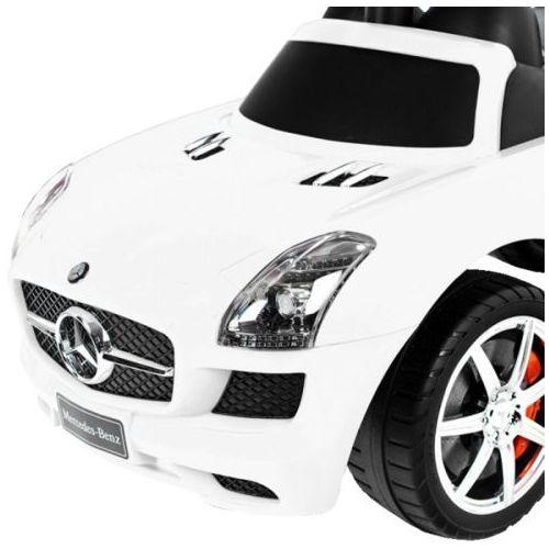 Jeździk 3w1 - super Samochód dla dzieci MERCEDES Biały PAA0099