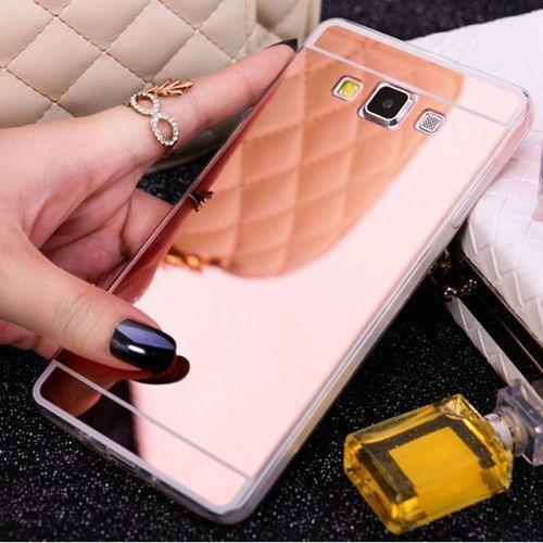 Slim Mirror Case Różowy   Etui dla Samsung Galaxy J5 - Różowy, kolor różowy