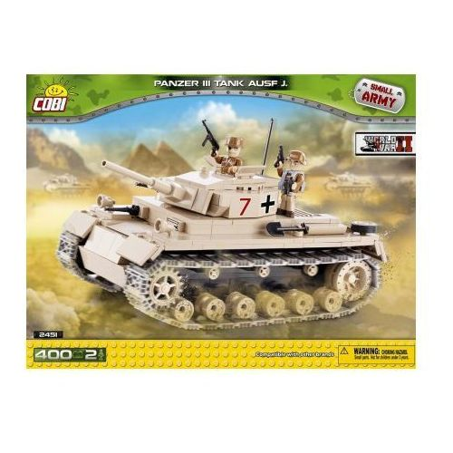 COBI Armia Panzer III Ausf. J. klocki