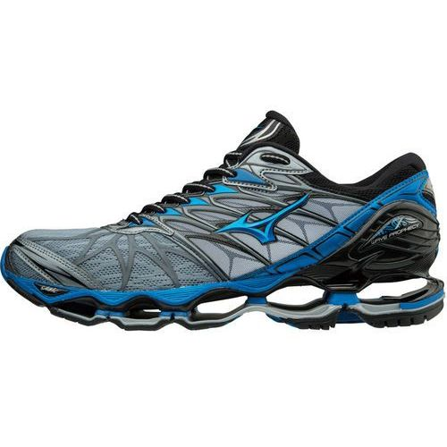 Mizuno Wave Prophecy Buty do biegania Mężczyźni szary/niebieski UK 12   EU 47 2018 Szosowe buty do biegania (5054698470725)