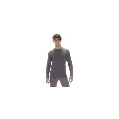 Koszulka męska authentic 214 z długim rękawem czarna marki Cornette