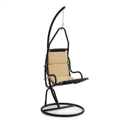 Blumfeldt Serramazzoni EggChair, Fotel wiszący poduszka na siedzisko, brązowy (4060656151798)