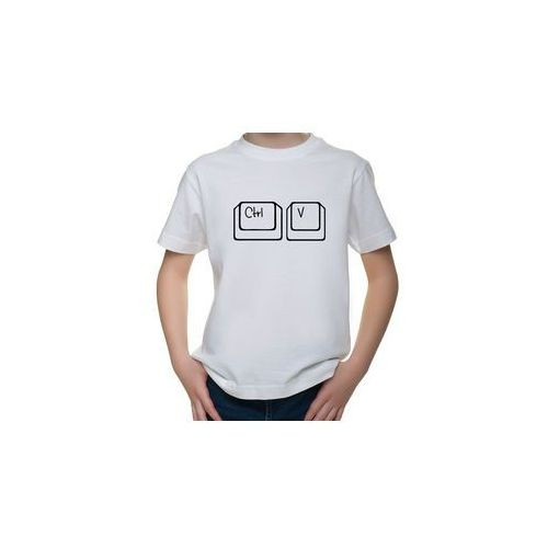 Koszulka dziecięca Ctrl V
