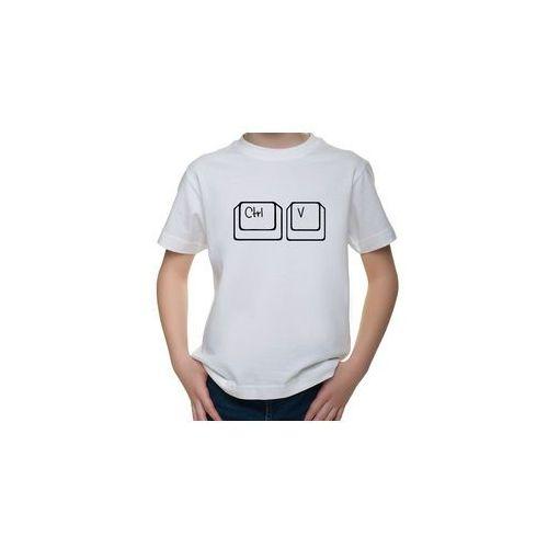 OKAZJA - Koszulka dziecięca ctrl v marki Megakoszulki