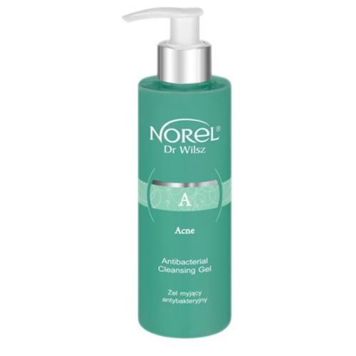 acne antibacterial cleansing gel antybakteryjny żel myjący (dd150) marki Norel (dr wilsz)