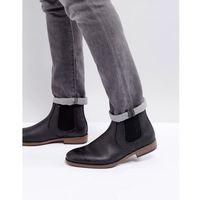 River Island Chelsea Boots In Black - Black