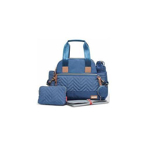 Torba suite satchel 6w1 (dusk blue) marki Skip hop