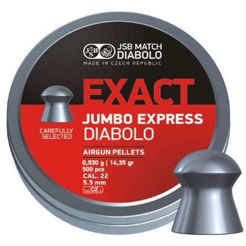 Śrut JSB Exact Jumbo Express 5.52mm 250szt (546277-250)