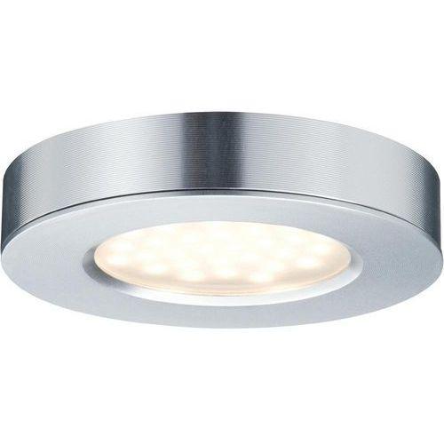Lampa meblowa Paulmann 93547, LED wbudowany na stałe x 3 3 W, 230 V, (ØxW) 7 cmx1.4 cm, aluminiowy (4000870935477)