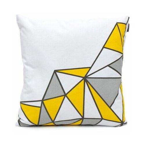 Domarex Poszewka na poduszkę Yellow Space Love SEMI, 45 x 45 cm