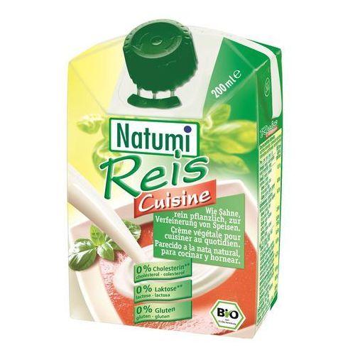 Śmietana ryżowa bio 200ml wyprodukowany przez Natumi