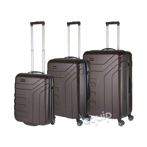 Zestaw walizek  vector - brązowy wyprodukowany przez Travelite