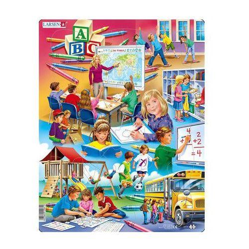 Puzzle MAXI - Zpátky do školy/33 dílků neuveden