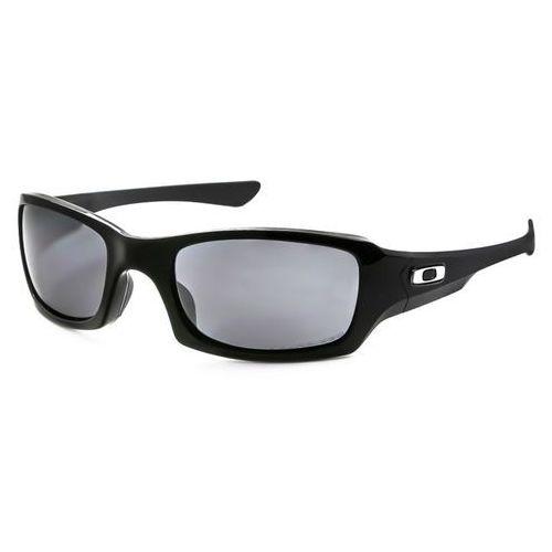 Okulary Słoneczne Oakley OO9238 FIVES SQUARED Polarized 923806, kolor żółty