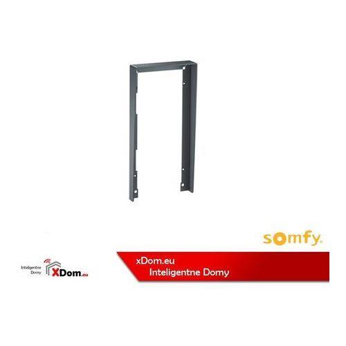 Somfy 9020026 obudowa przeciwdeszczowa podtynkowa z daszkiem dla 2 modułów