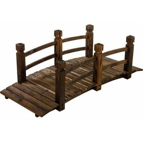 Drewniana kładka mostek ogrodowy 150 cm marki Max