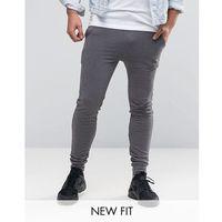Asos design Asos super skinny joggers in charcoal marl - grey