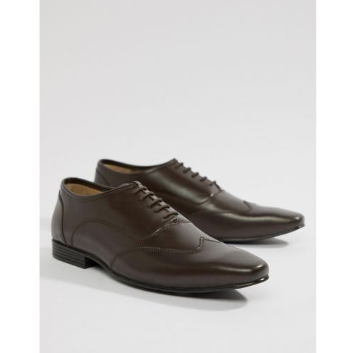 Kg kurt geiger Kg by kurt geiger wide fit kaden lace up shoes - brown